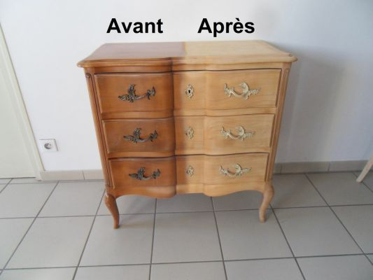 Décapage commode